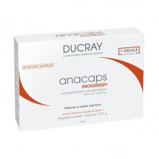 Ducray Anacaps Progressiv Against Hair Loss 30 Capsules