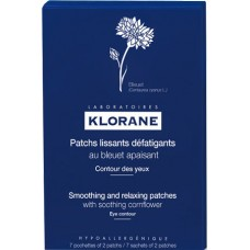 Klorane Smoothing n Relaxing Patches For Tired Eyes With Cornflower 14 patchs