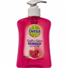 Dettol Liquid Hand Wash Pump Raspberry & Pomegranate 250ml