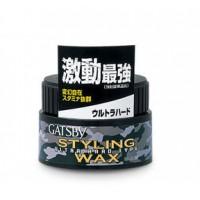 Gatsby Ultra Hard Type Styling Hair Wax 80G