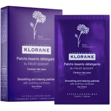 Klorane Eye Contour Smoothing & Relaxing Patches 7x2 patches