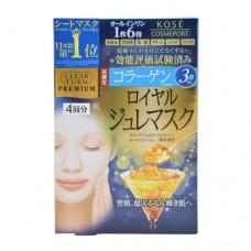 Kose Premium Firming Royal Jelly Gel Skin Care Mask 4 Sheets