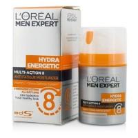 L'Oreal Men Expert Hydra Energetic Multi-Action 8 Anti-Fatigue Moisturizer 50ml