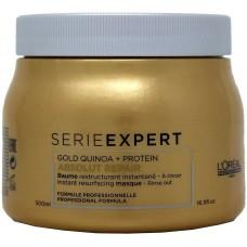 L'oreal Professional Serie Expert Gold Quinoa + Protein Masque 500ml