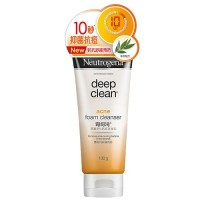 Neutrogena Deep Clean Acne Foam Cleanser 100g