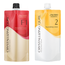 Shiseido Crystallizing Qurl F1 Hair Wave Perm Chemicals Neutralizing Lotion 400ML