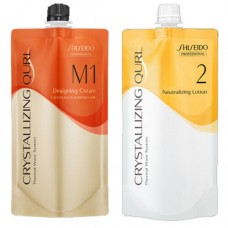 Shiseido Crystallizing Qurl M1 Hair Wave Perm Chemicals Neutralizing Lotion 400ML