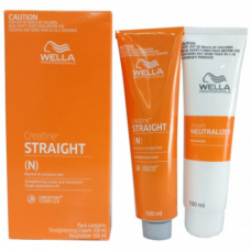 Wella Wellastrate Straight System Permanent Hair Straightening Cream normal to resistant