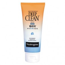 Neutrogena Deep Clean Gentle Scrub Face Wash Cleanser 100g