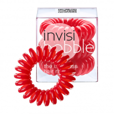 Invisibobble The Traceless Hair Ring Raspberry Red 3 Pcs