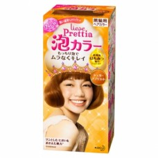 Kao Prettia Liese Bubble Hair Color Sweet Apricot