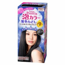 Kao Prettia Liese Bubble Hair Color Natural Black - 1 Month Type