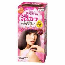 Kao Prettia Liese Bubble Hair Color Raspberry Brown