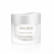 Decleor Hydra Floral 24hr Hydrating Rich Cream with Neroli Oil 50ml